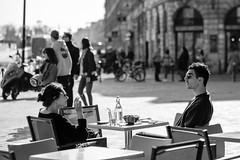 DSCF2105 (LexomIA) Tags: bordeaux street urbain bw nb streetphotography