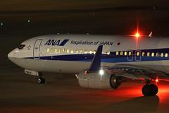 JA74AN, Boeing 737-800, All Nippon Airways, Tokyo Haneda (ColinParker777) Tags: ja74an boeing 737 738 737800 737881 b737 b738 b737800 airliner aircraft airplane plane aviation taxy taxi fly flying flight travel night dark beacon lights reflection handheld ana all nippon airlines airways air nh tokyo haneda japan hnd rjtt airport international canon 5d3 5dmk3 5dmkiii 5diii 100400 mk2 mkii l lens zoom telephoto pro 33905 4634