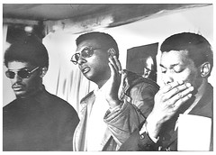 King slaying--black people 'have to get guns': 1968 (Washington Area Spark) Tags: stokely carmichael kwame ture lester mckinnie cleveland sellars rev dr martin luther king jr slaying assassination murder press conference h rap brown student non violent coordinating committee sncc black african american reaction retribution statement washington dc district columbia 1968