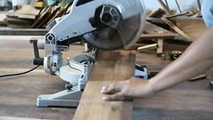 carpenter man using a circular saw for cut wood plank (SawAdvisor) Tags: circular saw woodworking carpenter cutting circularsaw