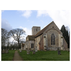 Western aspect (badger_beard) Tags: st augustine canterbury burrough green cambridgeshire south cambs east newmarket parish church england west western aspect