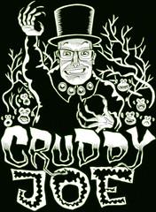 Cruddy Joe (Tom Bagley) Tags: creepingcruds cruddyjoe coffinjoeparody chimps whitetrees cartoon illustration nashville creepy eerie weird tombagley calgary alberta canada