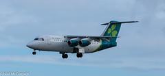 EI-RJI Aer Lingus British Aerospace Avro RJ85 (Niall McCormick) Tags: dublin airport eidw aircraft airliner dub aviation eirji aer lingus british aerospace avro rj85 cityjet