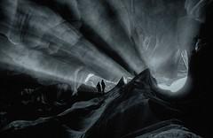 E quindi uscimmo a riveder le stelle (Gio_guarda_le_stelle) Tags: dante inferno cave artwork silhouttes bw fun viaggio travel dantesinferno bn