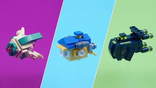 The LEGO Movie 2 - Microscale Spaceships