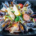 Seafood in cream sauce thumbnail