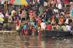 0956 Varanasi People (Hrvoje Simich - gaZZda) Tags: people outdoors colors religion boat reflections water river holy indian ganges varanasi india asia travel nikon nikond750 nikkor283003556 gazzda hrvojesimich