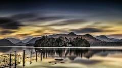 The Island (petebristo) Tags: derwentwater derwentisle lakedistrict lakes longexposure reflections