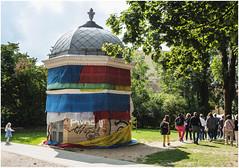 190-REPÚBLICA INDEPENDIENTE DE UZUPIS -VILNIUS- LITUANIA - (--MARCO POLO--) Tags: curiosidades ciudades rincones barrios