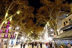 Las Ramblas ll - Barcelona (fxdx) Tags: las ramblas rx100m3 street night lights people barcelona