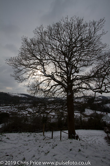 Bampton after snow
