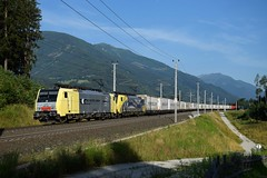 189 902 + 189 912, TEC 41853. Pusarnitz (M. Kolenig) Tags: 189 ekol tauernbahn baum berg
