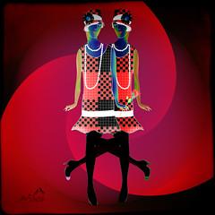 Swingtime! (SØS: Thank you for all faves + visits) Tags: colorful dance digitalartwork art kunstnerisk manipulation solveigøsterøschrøder artistic girls ladies swingtime 100views 300views 500views 600views 700views