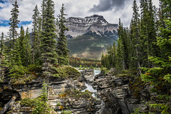 The land of extremes (10000 wishes) Tags: mountains waterfall lake canada rockies forest naturephotography naturallight beauty scenic