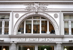 The Home Depot, 40 West 23rd Street (1878, expanded and altered, 1892), Flatiron District, New York City (Spencer Means) Tags: homedepot sternbrothers sb cartouche window architecture building department store sterns arch 40 west 23rd street manhattan newyork city ny nyc flatiron district