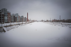 Canal Lachine in snow (Hartyl) Tags: hostas lachine canal cityscape garden green hiver jardin paysage plantes snowg ville