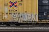 (o texano) Tags: houston texas graffiti trains freights bench benching swampy sworn