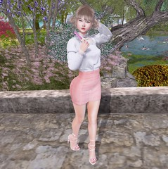 Hurry to SaNaRae! The round ends today! (hump muffin) Tags: blog blogger events fashion blogging sanarae vanity barberyumyum boataom catwa essenz lychee michan pacagaia poses pastel pink s0ng sorumin white yokai second life hump muffin sl cute avatar girl clothes virtual world female girly hair skin secondlife 2ndlife 3d outfit look lotd