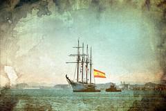 School ship Juan Sebastian Elcano (Carlos A. Aviles) Tags: ship barco velero tallship nave transportation sailing schoolship spain españa marina navy