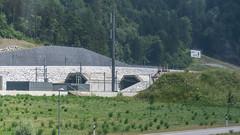 Gotthard Base Tunnel North Portal Erstfeld 16 July 2015 (1) (BaggieWeave) Tags: switzerland swiss swissrailways erstfeld gotthardrailway gotthard gotthardbahn sbb cff ffs gbt gotthardbasetunnel