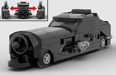 lego 1989 Batmobile (+ Batmissile) moc (KaijuWorld) Tags: lego moc custom batman dc batmobile tim burton batmissile 1989 ldd