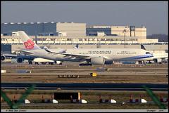 "AIRBUS A350 941 ""China Airlines"" B-18908 121 Frankfurt janvier 2019 (paulschaller67) Tags: airbus a350 941 chinaairlines b18908 121 frankfurt janvier 2019"