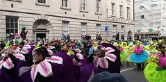 St. Patrick's day parade in Dublin (MargrietPurmerend) Tags: parade saintpatricksday ireland dublin colorful