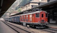 SBB Re4/4' 10012 (maurizio messa) Tags: switzerland svizzera uri gottardo gotthard re44i re44 yashicafxd mau bahn ferrovia treni trains railway railroad