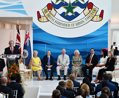 Moses speech CJ13ed (Cayman Islands Government Information Services) Tags: royalarrival27march cayman royal visit charles prince wales camilla duchess cornwall owen roberts international airport united kingdom great britain