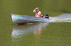 Maysville Boaters (oldbourbonguy) Tags: boater dog kentucky maysville ohio ohioriver
