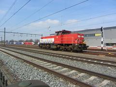 Afscheidsrit voor deze Machinist ! DBC 6414 te Blerick , Nederland 6.4.2019 (Treinemanke) Tags: afscheidsrit voor deze machinist laatste rit afscheid met pensioen db cargo dbcargo dbc 6414 locomotive a last trainride for engineer today