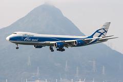 AirBridgeCargo B747-8F VQ-BRJ 001 (A.S. Kevin N.V.M.M. Chung) Tags: aviation aircraft aeroplane airport airlines plane spotting hkg boeing b747 747 jumbo jet cargo queen appoach landing