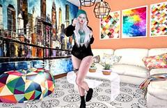 Trivial 🏡 (ღ Sɑrɑɑh Drɑgoone ღ) Tags: collors pic photo girl gorgeous cute sexy dossier ncore beson reign secondlife sl bentoav albino