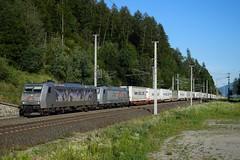 185 540 + 185 538, TEC 41874. Kolbnitz (M. Kolenig) Tags: 185 txl tauernbahn baum wald