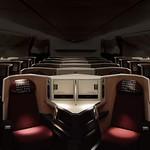 JAL国際線777-200ER新客室仕様の写真