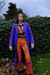 Lord Josh Allen - The Lamat Star (Josh100Lubu) Tags: lordjoshallen lordjosh occult occultism occultist magician magick magic mayan magical aztec maya lamat lamat771 lamatology lamatstar lamatmayan sorcery sorcerer coat clothing clothes colourful purple orange