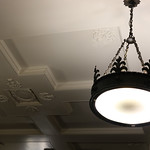 Scottish chandelier and plaster ceiling thumbnail