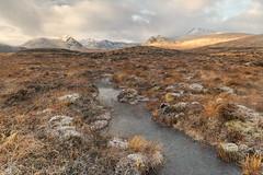 Rannoch Moor (Kathy ~ FineArt-Landscapes) Tags: moor scotland rannoch morning sunrise mist mountains frost winter britain landscape