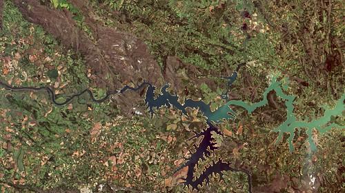 UHE / Dam Furnas, região de Capitólio/MG