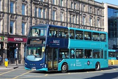 Arriva MAX 7605 / NK59 DLY (TEN6083) Tags: newcastle barrasbridge eclipsegemini2 wright db300 vdl nk59dly 7605 arrivamax max arriva transport publictransport bus buses nebuses