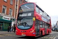 London Central WHV1 on route 436 Lewisham 02/03/19. (Ledlon89) Tags: bus buses tfl london londonbus londoncentral goaheadlondon londonbuses transport transportforlondon londontransport lewisham lewishambuses