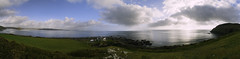 Over The Watch (richardsolway) Tags: nare point falmouth cornwall bay sea ocean panorama panoramic landscape seascape cliffs rocks