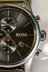 precious seconds . (alderson.yvonne) Tags: macro monday macromonday timepieces yvonne yvonnealderson watch seconds boss