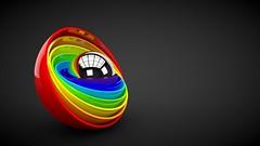 form_ball_colorful_rainbow_43433_1280x720 (andini.dini53) Tags: 3d ball colourfull