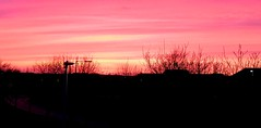 Amazing sunset over Clonee, Dublin (MargrietPurmerend) Tags: sunset colours pink colorful dublin ireland