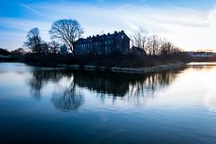 Reflection (Maria Eklind) Tags: hovrätten skåne sky hovrättenöverskåneochblekinge sunset himmel solljus solnedgång sweden outdoor cityscape highcourt city malmö skånelän sverige se