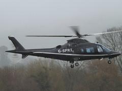 G-SPRI Agusta A-109E Power Helicopter (Looporder Ltd) (Aircaft @ Gloucestershire Airport By James) Tags: cheltenham helipad gspri agusta a109e power helicopter looporder ltd egbc james lloyds