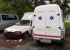 2003 Zastava Florida 1.3 Sanitet (FromKG) Tags: yugo zastava florida 13 sanitet ambulance white car kragujevac serbia 2019