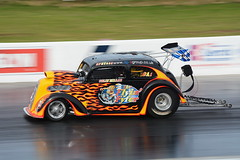 Flyin Fyfer_3843 (Fast an' Bulbous) Tags: santa pod outdoor drag race car vehicle automobile nikon d7100 gimp power speed acceleration panning track strip motorsport