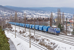 Modrá kompletka | 193.846 | PSŽ | Bratislava (lofofor) Tags: electric vectron 193 846 193846 mgw service psž ba bratislava mladágarda ahoj sneh zima winter snow sk sr svk slovakia slovensko modrý modrá ucelenka siemens
